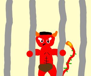 satan is is jail !!