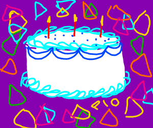PIO Birthday Cake