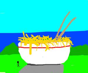 BIG Bowl of Noodles