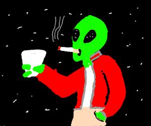 space alien fratboys