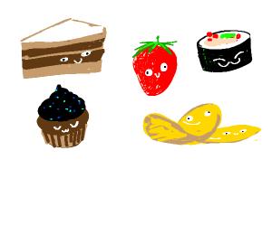 Cute Food Items