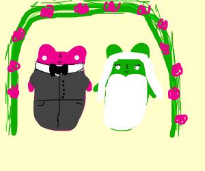 Gummy bear wedding