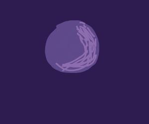 purple high looking grape