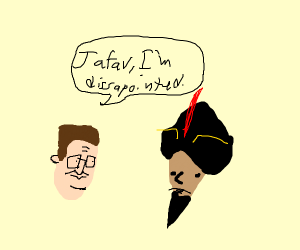Hank Hill Is Disappointed In Jafar