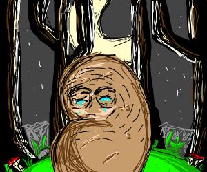 depressed potato
