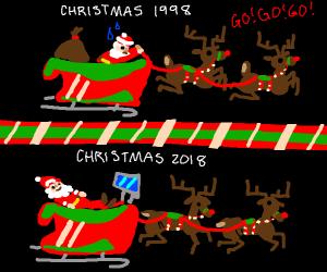 x-mas 1998 to 2018