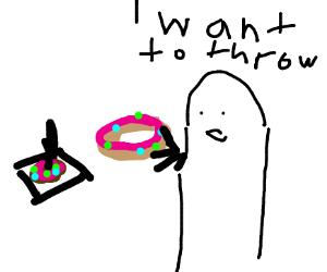 demanding donut ringtoss