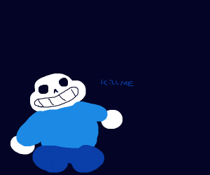 sans doesn't want to live