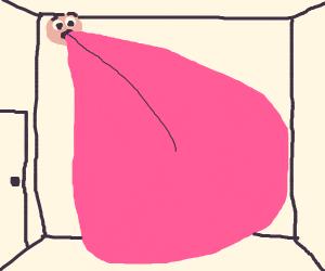Room-Filling Tongue