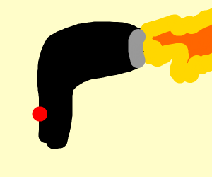 malfunctional hairdryer who shots fire