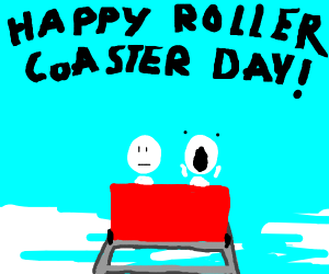 Happy Roller Coaster Day!