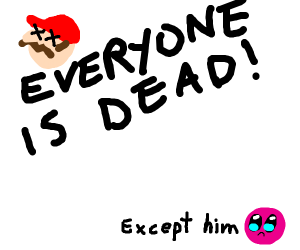 EVERYONE IS DEAD (except for Kirby)