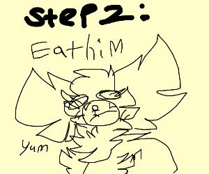 Step 1: Stalk him.