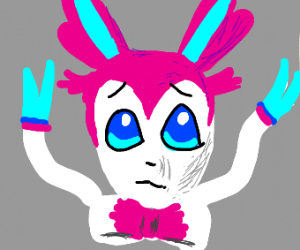 Scared Sylveon