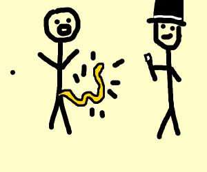 skeddadle skadoodle  your pick is now a noodl