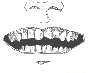 Guy with bad teeth
