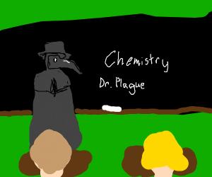 plague doctor is a teacher