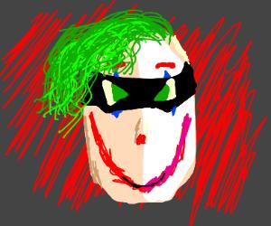 creepy joker-robin
