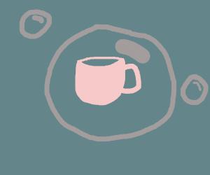 tea in a bubble