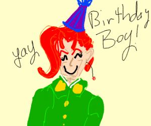 kakyoin's birthday!