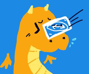 Kawaii dragon gets the reverse card