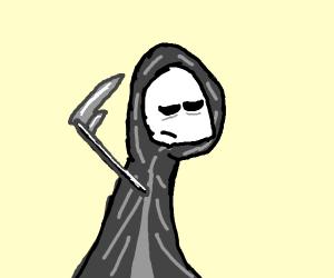 Sleepy grim reaper