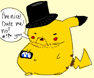 Pikachu as a Niceguy