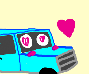 car in love