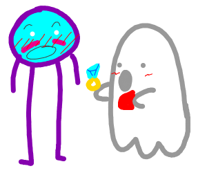 ghost proposing to clock