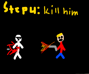 Step 3: The stormtrooper you fought kills you