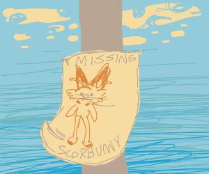 Scorbunny missing poster
