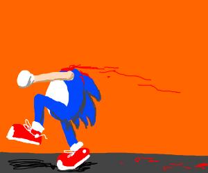 sonic decapitated
