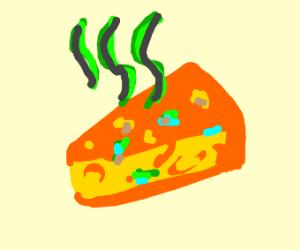 Rotten orange cheese