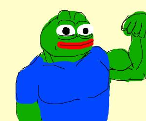 Super Stronk Pepe