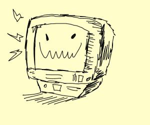 Job Bot from job simulator smiling