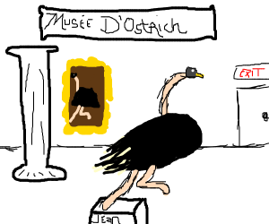 A museum for ostriches