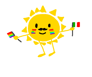 The sun is gay and mexican