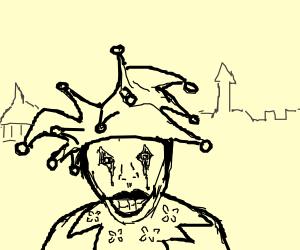 Happy jester