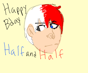 It's my birthday today! - Drawception