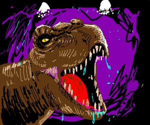 Scary T-Rex