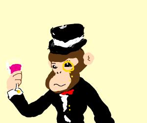 a dapper monkey