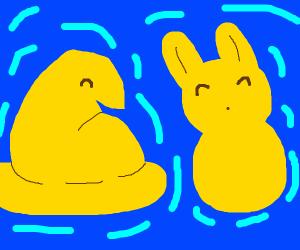 happy peep