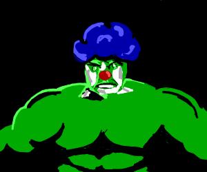 the hulk is a clown