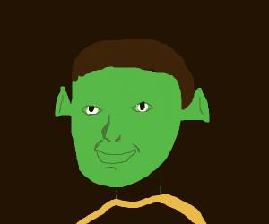 Lore(Star Trek) but also Shrek