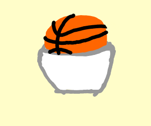 Basketball in a Bowl