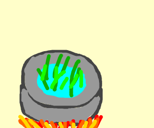 Cooking Grass