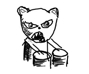 bongo cat is angry