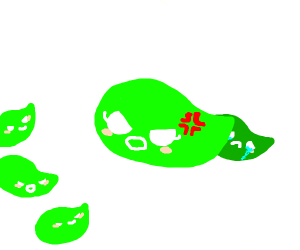 Stop Bullying little leaf, mama leaf angry