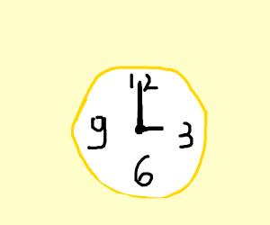 It's 3 o'clock!