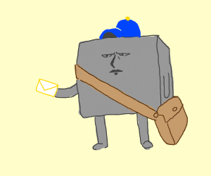Mail Carrier - Drawception